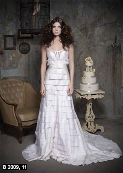 Pnina Tornai 2009 Bridal Collection